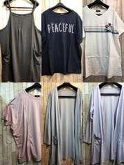 新品☆5Lまとめ売り!Tシャツ・チュニック・カーディガン等☆s716