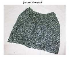 ジャーナルスタンダード*journal standard綿ローン小花プリントミニスカート新品