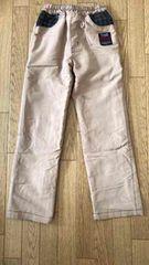 28■内側暖か素材 ポリエステル 長ズボン 130cm  切手払い可能