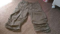 女の子用、七分丈ズボン