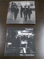 (CD+DVD)GLAY/グレイ&氷室京介☆AnswerPV映像+メイキング映像アリ