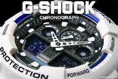 送料込 G-SHOCK CASIO カシオ 1/1000秒クロノデジアナ WHBL新品