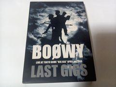 BOOWY DVD/LAST GIGS 東京ドーム