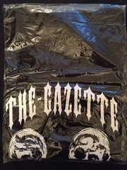 the GazettE/ガゼット★HERESY更新特典Tシャツ/BLACK MORAL