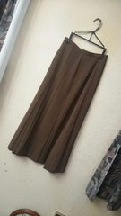 PINORE☆サラサラ柔らかデザインフレアスカート