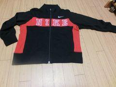 【新品タグ付】NIKEスウェットジャケット130�p黒