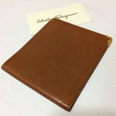 1スタ極美品●サルバトーレ フェラガモ 降り財布