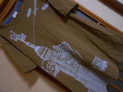 ドラッグストアーズ*ブラウンブタプリントTシャツサイズ3*クリックポスト164