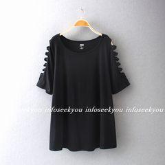 4L大きいサイズ/袖バンテージTシャツチュニック18
