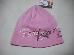 wb776 ROXY ロキシー ニット帽 ビーニー ピンク