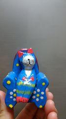 """「アジアン★ネコ」""""1匹でソファーオブジェ""""=綺麗なブルー="""