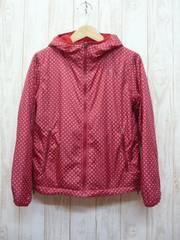 即決☆ノースフェイス 特価 W's リバーシブル 防寒 ジャケット RED/M 女性