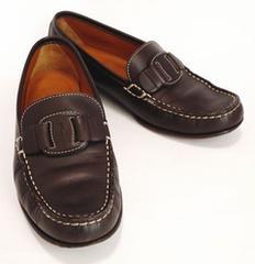 正規フェラガモヴァラローファーブラウン6Cパンプスドライビングシューズ靴Ferragamo