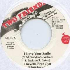 シャニ-スI Love Your Smile レゲエ カバー バージョン 7インチアナログ盤