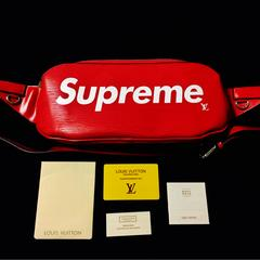 Louis Vuitton × Supreme バムバック ウエストポーチ