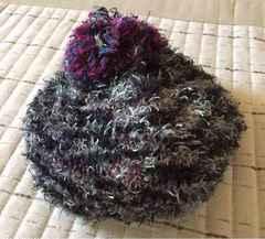 モコモコベレー帽