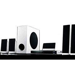 迫力の105Wの大音量DVD5,1chホームシアターセット