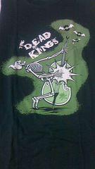 DEAD KINGS TシャツロカビリーサイコビリークリームソーダMAD SINデッドキングスコフテ