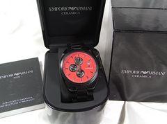 確実本物保証エンポリオアルマーニ日本限定500本クロノメンズ腕時計 AR5962