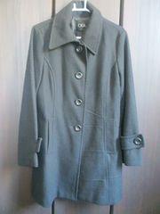 現状渡しでお安く黒のコート3L