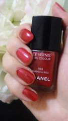 CHANELネイル#183RED