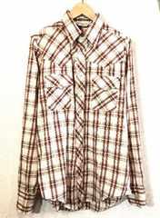 SUNDANCE■ウエスタンシャツ■70'sVINTAGE■USA製■チェック刺繍