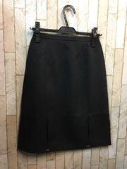 新品☆7号61�p洗える防汚スカート黒オフィス仕事にも☆s689