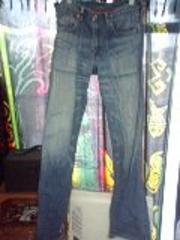 リーバイス510レッドループ色落ちジーンズ