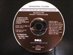 ★OS DELL Windows 7 Pro 32bit
