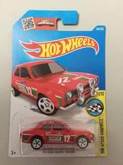 ホットウィール・70フォード エスコートRS1600赤 (他も出品中)