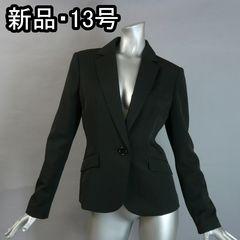 ≪新品♪13号Y体≫黒のテーラージャケット♪機能美で快適!♪3f