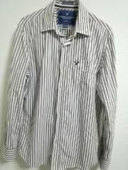 アメリカンイーグル ストライプシャツ