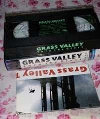 GRASS VALLEY Thrt  the Glass 美品ビデオテープ