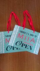 ミーア MIIA 渋谷109オープン記念 ショップ袋 美品 二点まとめ売