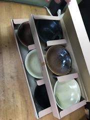 味楽鉢。3個組を二箱。未使用。