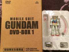 激レア!☆機動戦士ガンダム/初回盤DVD6枚組+フィギュア☆超美品