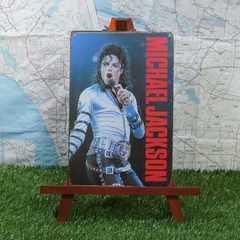 新品【ブリキ看板】マイケル・ジャクソン Bad World Tour