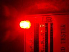 Φ5mm LED 赤 20000mcd 200発
