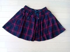 ブルークロス♪スカート(Lサイズ)☆used