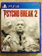 サイコブレイク2 美品 初回コード付き PS4 PSYCHO BREAK2
