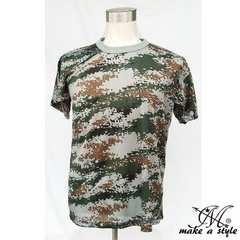 グレー デジカモ メッシュTシャツ TEE 半袖XL迷彩 灰 16