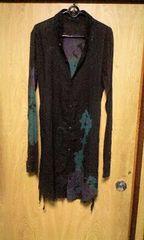KMRIIケムリ 染色加工ロングシャツ 2