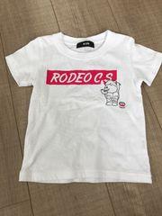 美品RCWBロデオ半袖Tシャツ男女OKキッズXS
