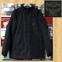 MCM エムシーエム 中綿ジャケット M ロゴ刺繍 メンズ