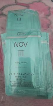 NOVノブ�Vミルキーローション乳液サンプル高保湿
