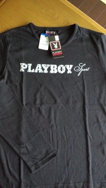 新品タグ付PLAYBOY長袖TシャツLLサイズ < ブランドの