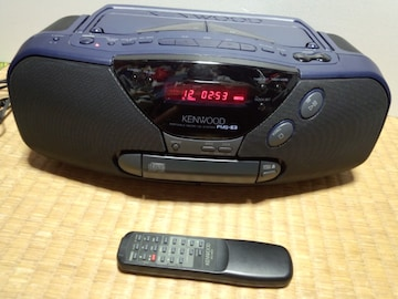 ケンウッド CDラジオ PMS-E3 リモコン付