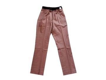 新品 scroll スクロール 美脚 カラー パンツ ストレッチ M 9号