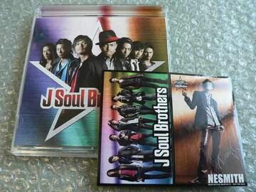 二代目 J Soul Brothers/アルバム【CD+DVD】初回盤/ステッカー付