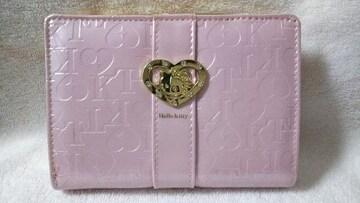 新品★HelloKitty ハローキティ★ピンクの可愛いお財布★がま口